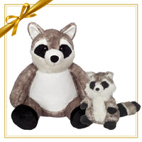 Gift Set - Rene Raccoon Buddy & Mini Plush