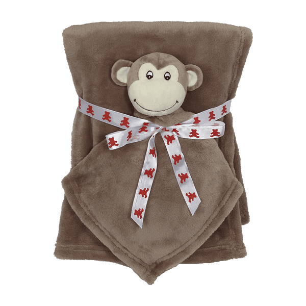Monkey Blankey Buddy Set