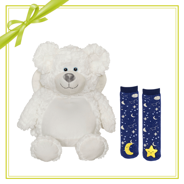 Gift Set -  Bobby Angel Buddy & Mismatch sock