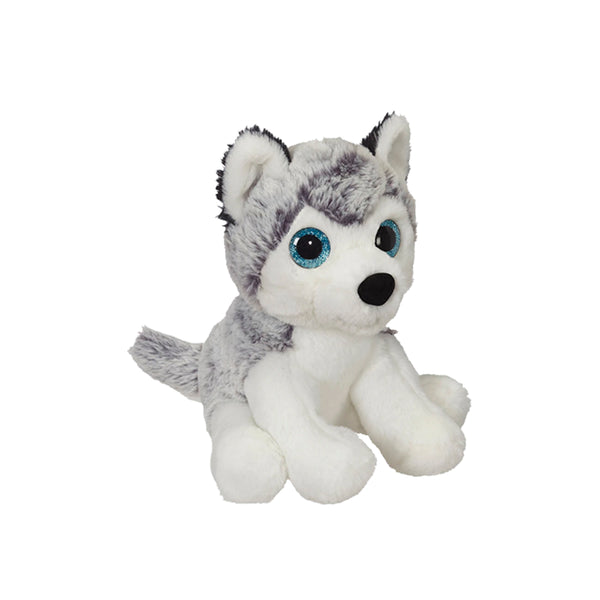 Big Eyes Husky Mini Plush
