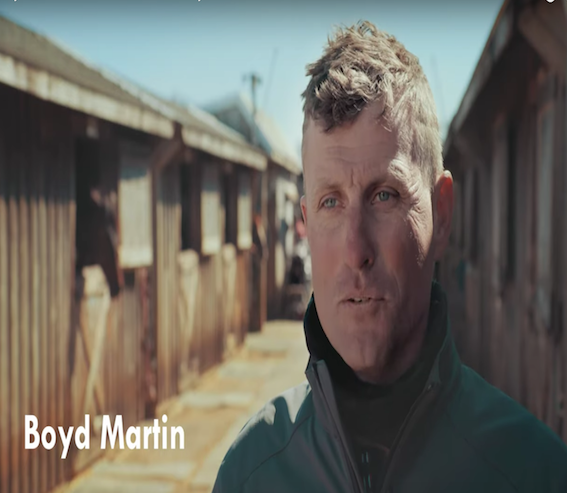 Boyd Martin Trains for the Future with Hylofit