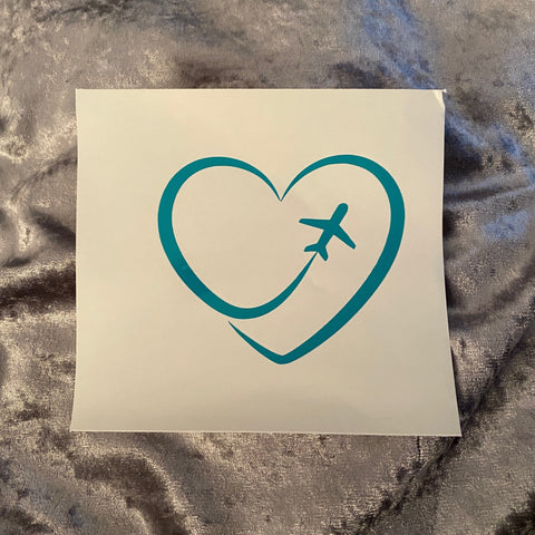 Travel Lover Decal