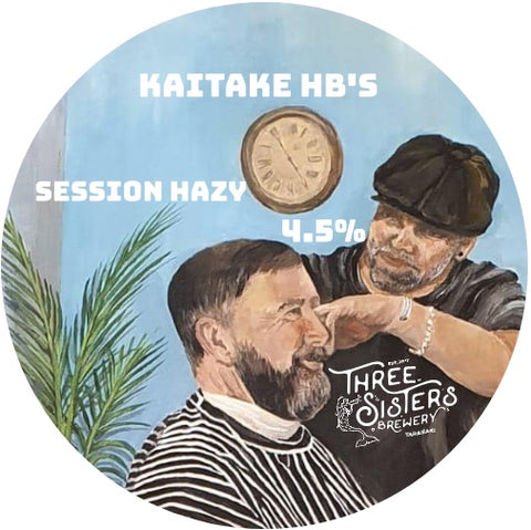 Kaitake HB's Session Hazy - 500ml