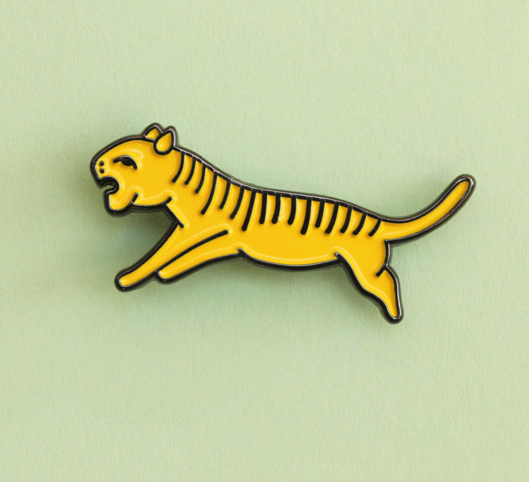 Boris the Tiger Pin