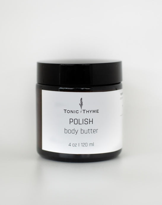 POLISH body butter