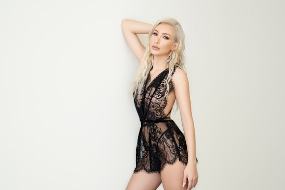 """Keep It Casual"" Lace Short Set"