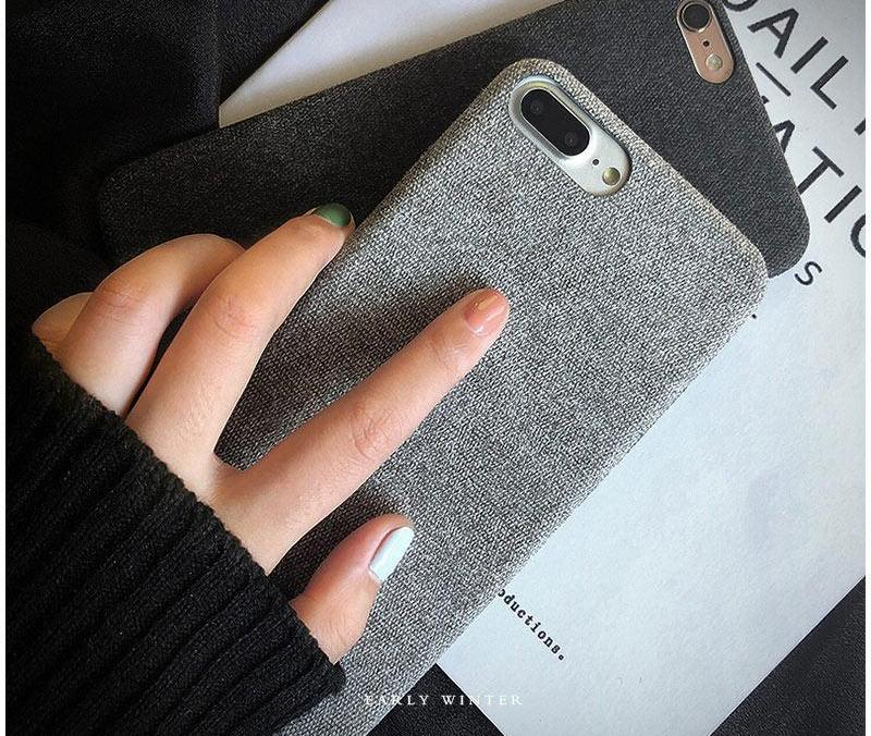 Cloth Texture Iphone Case
