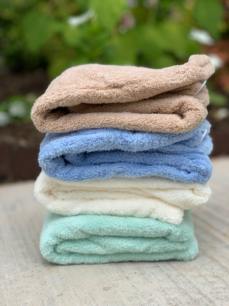 KIN's Rapid Dry Microfiber Hair Towels