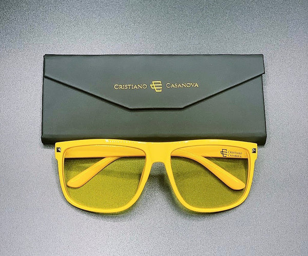 Venezia Sunglasses Yellow-Yellow