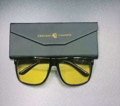 Venezia Sunglasses Black-Yellow