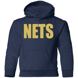 NETS BOLD GL Toddler Hoodie - Navy