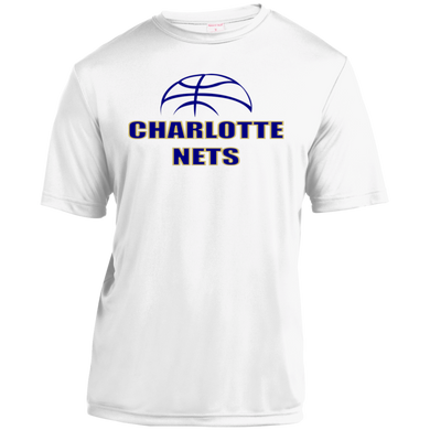 NETS Youth Moisture-Wicking T-Shirt - White