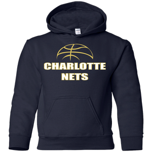 NETS Ball Youth Hoodie - Navy