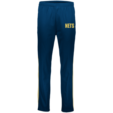 NETS BOLD GL Warm-Up Pants - Navy
