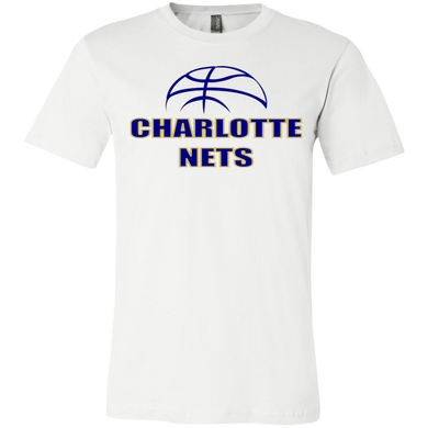 NETS Youth 4.2oz Short Sleeve T-Shirt - White