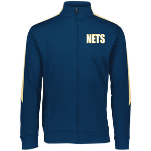 NETS BOLD WGL Youth Warm-Up Jacket - Navy
