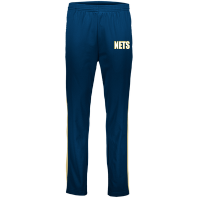 NETS BOLD WGL Warm-Up Pants - Navy