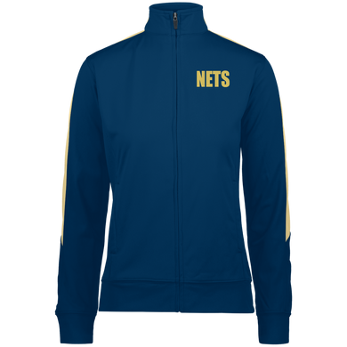 NETS BOLD GL Ladies Warm-Up Jacket - Navy