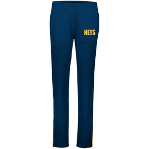 NETS BOLD GL Ladies Warm-Up Pants - Navy
