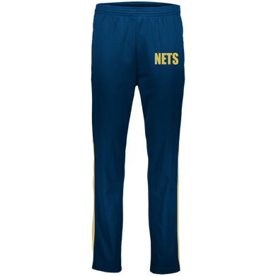 NETS BOLD GL Youth Warm-Up Pants - Navy