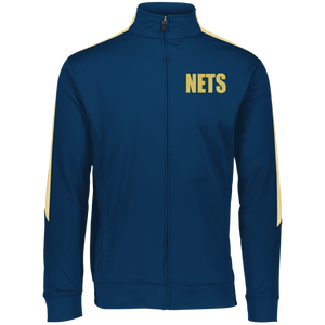 NETS BOLD GL Youth Warm-Up Jacket - Navy