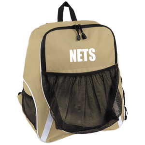 NETS BOLD WL Team Bag - Vegas Gold