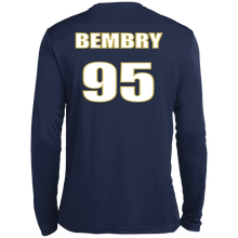 Load image into Gallery viewer, Bembry 95 Tall LS Wicking TShirt