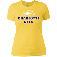 Load image into Gallery viewer, NETS Ball Ladies T-Shirt - Gold