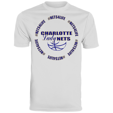 NETS LadyNETS4Life Wicking T-Shirt - White