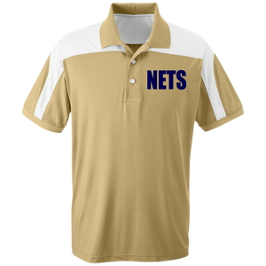 NETS Gold Poly Polo