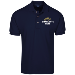 NETS Ball Cotton Polo - Navy