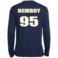 Load image into Gallery viewer, Bembry95 NETS4LIFE LS Wicking TShirt