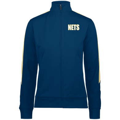 NETS BOLD WGL Ladies Warm-Up Jacket - Navy