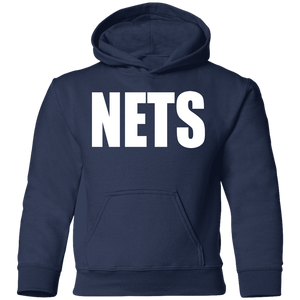 NETS BOLD WL Toddler Hoodie - Navy