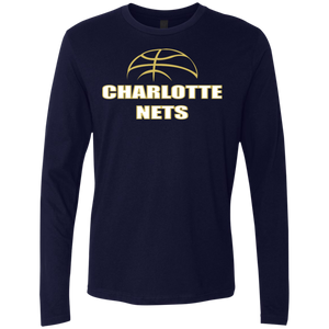 NETS Ball Navy LS