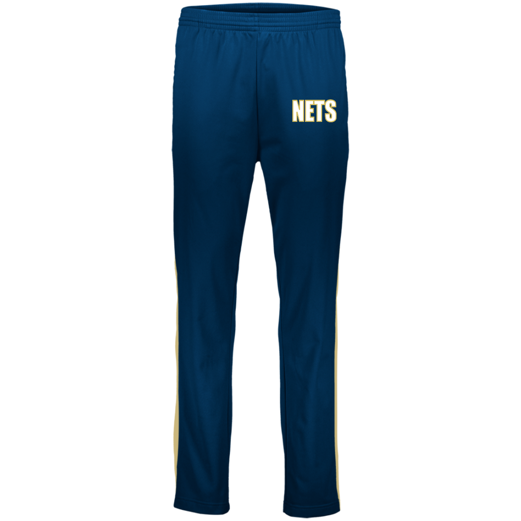NETS BOLD WGL Youth Warm-Up Pants - Navy
