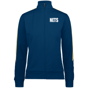NETS BOLD WL Ladies Warm-Up Jacket - Navy