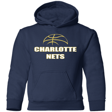 NETS Ball Toddler Hoodie - Navy
