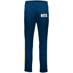 NETS BOLD WL Youth Warm-Up Pants - Navy