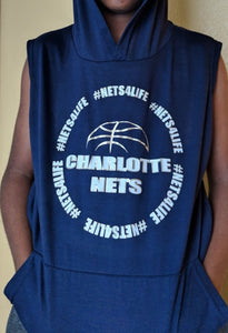 NETS4Life Team Lightweight Sleeveless Hoodie