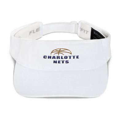 NETS Ball White Visor