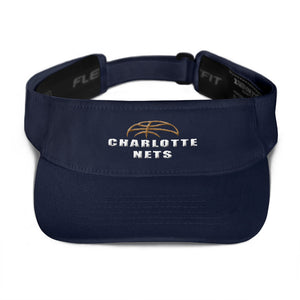 NETS Ball Navy Visor
