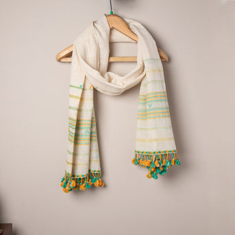 The Phursat Stole – handwoven cotton stole
