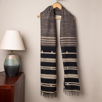 Mystic: Handwoven cotton stole