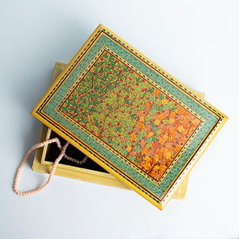 Keepsake Box with Kashmiri Autumn Motif