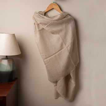 Autumn dusk: Stole in original Pashmina wool