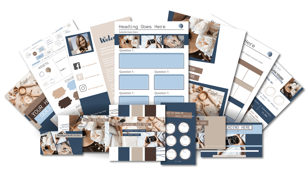 Ultimate Branding and Social Media Toolkit - Café au Lait