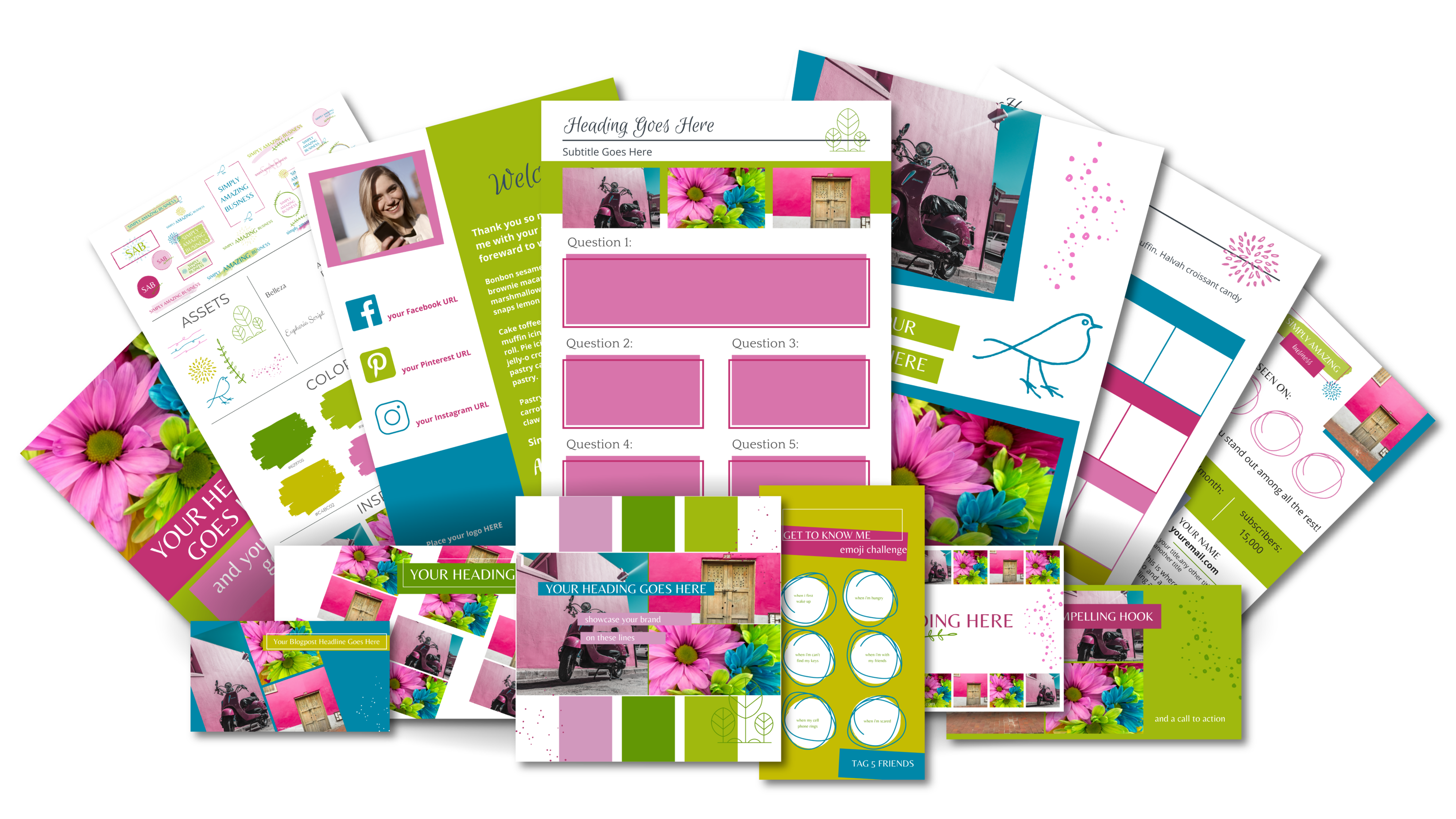 Ultimate Branding and Social Media Toolkit - Cheerful Endeavor