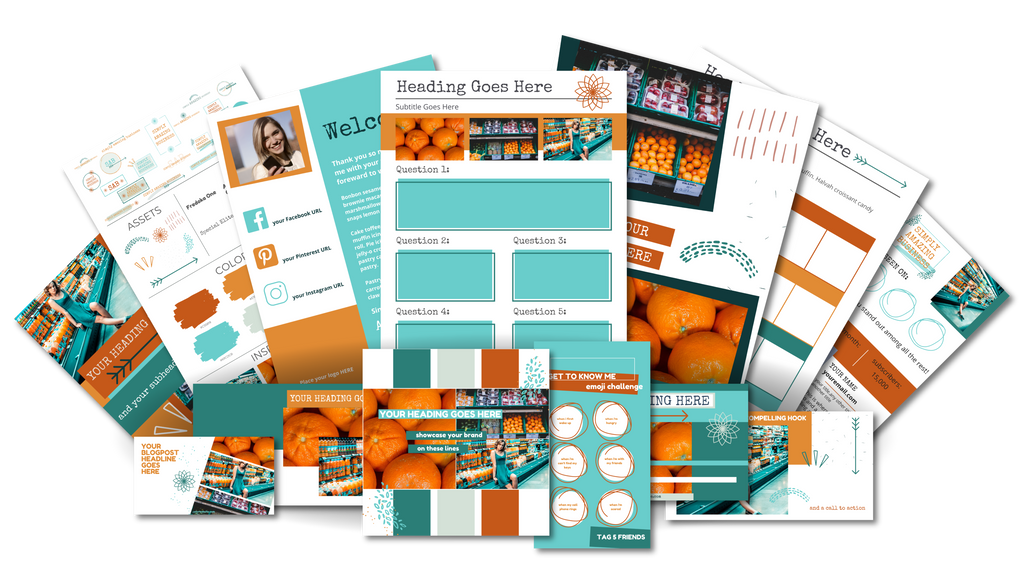 Ultimate Branding and Social Media Toolkit - Fruity Frenzy