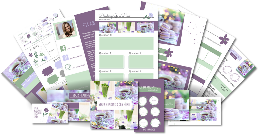 Ultimate Branding and Social Media Toolkit - Lilac Lane